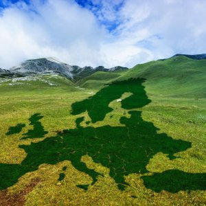 Landschaft Green Deal Europa